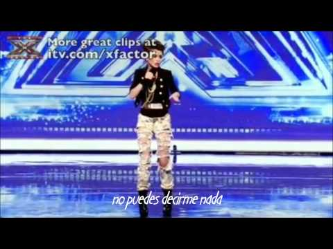 Audicin de Cher Lloyd en The X Factor (Traducida)
