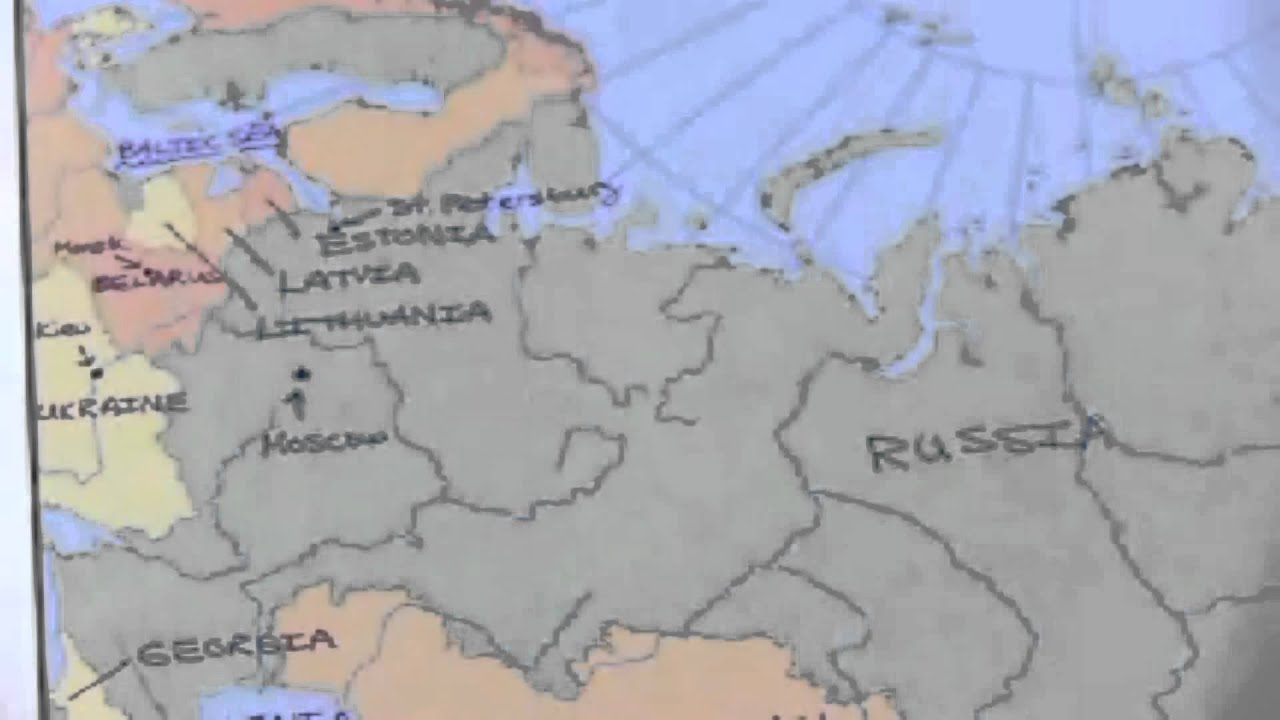 Russia Map Test Russia Area Map Test