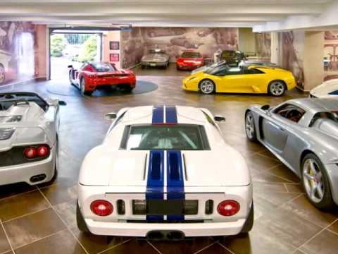 Los mejores garajes del mundo youtube for Garajes para carros