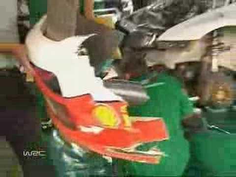 Telstra Rally Australia 2005 -- Colin McRae's clutch service