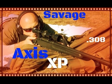 Savage Axis XP 308 Budget Rifle Test And Review (HD)