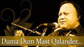 Nusrat Fateh Ali Khan Qawwali Hits - Duma Dum Mast Qalander - Pakistani Qawwali Hits