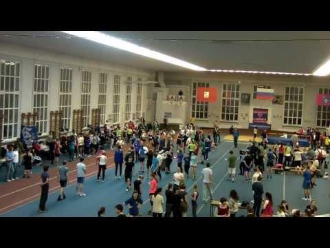 Чемпионат МГУ 2013 - 1км - девушки (бегуньи)