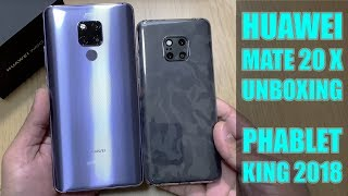 Huawei Mate 20 X Unboxing - First Look - Hands-On