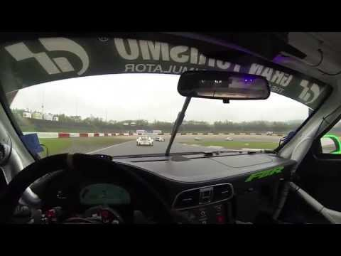 Leh Keen Driving a Porsche 911 GT3 R in the Rain