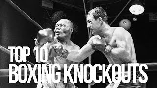 TOP 10 BOXING KNOCKOUTS