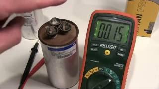 Air Conditioner capacitors  - Basic Info - HVAC troubleshoot & AC repair