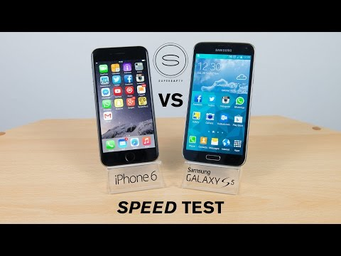 iPhone 6 vs Samsung Galaxy S5 - Speed Test