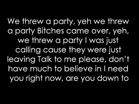 Drake- Marvins Room Lyrics Hd video