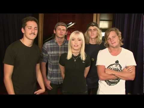Tonight Alive - 'Breakdown' Featuring Benji Madden Video Announcement