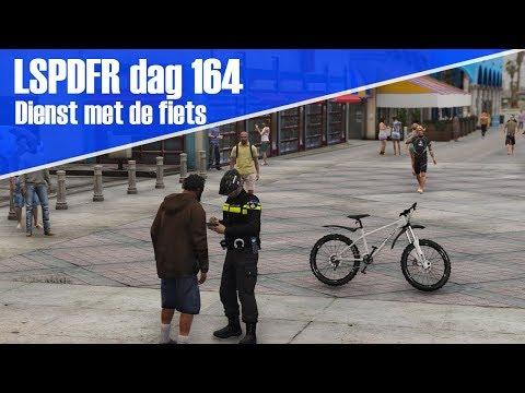 GTA 5 lspdfr dag 164 - Dienst met de fiets!