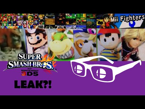 Smash Bros 4 Roster Leak! (Duck Hunt Dog, Bowser Jr., Dr. Mario, Shulk and MORE!)