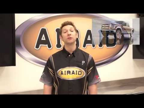 AIRAID Intake For Ford Superduty Powerstroke Diesel 6.7L 2011-2012 Install Video