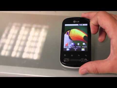 LG optimus ME p350 unboxing y primera vista de un economico android