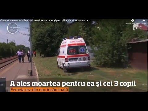 O mamă s-a aruncat în fața unui tren și i-a luat cu ea şi pe copiii ei, dar şi pe pruncul ...