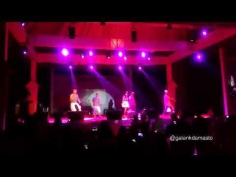 Anisa ChiBi - Hebat (cover) at Colour of Love Concert Purwokerto 130629