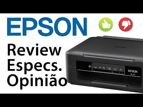 Multifuncional EPSON XP-225/231/235 - Review. Especificações. Opinião