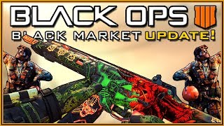 so the BLACK MARKET is back... BLACK OPS 4 New Loot System Revealed! (FREE Battle Pass in BO4!)