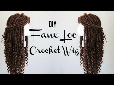 HOW TO MAKE A FAUX LOC CROCHET WIG  DIVATRESS.COM