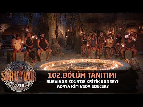 Survivor 2018'de kritik konsey! Adaya kim veda edecek? | 102. Bölüm Tanıtımı | Survivor 2018