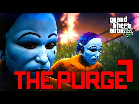 GTA 5 ONLINE - THE PURGE 7 FT. DRAINEOTV