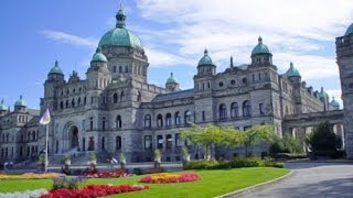 Parliament Buildings and Inner Harbour - Victoria, British Columbia