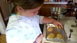 Elly Makes Peanut Butter Oatmeal Raisin Chocolate Chip Cookies