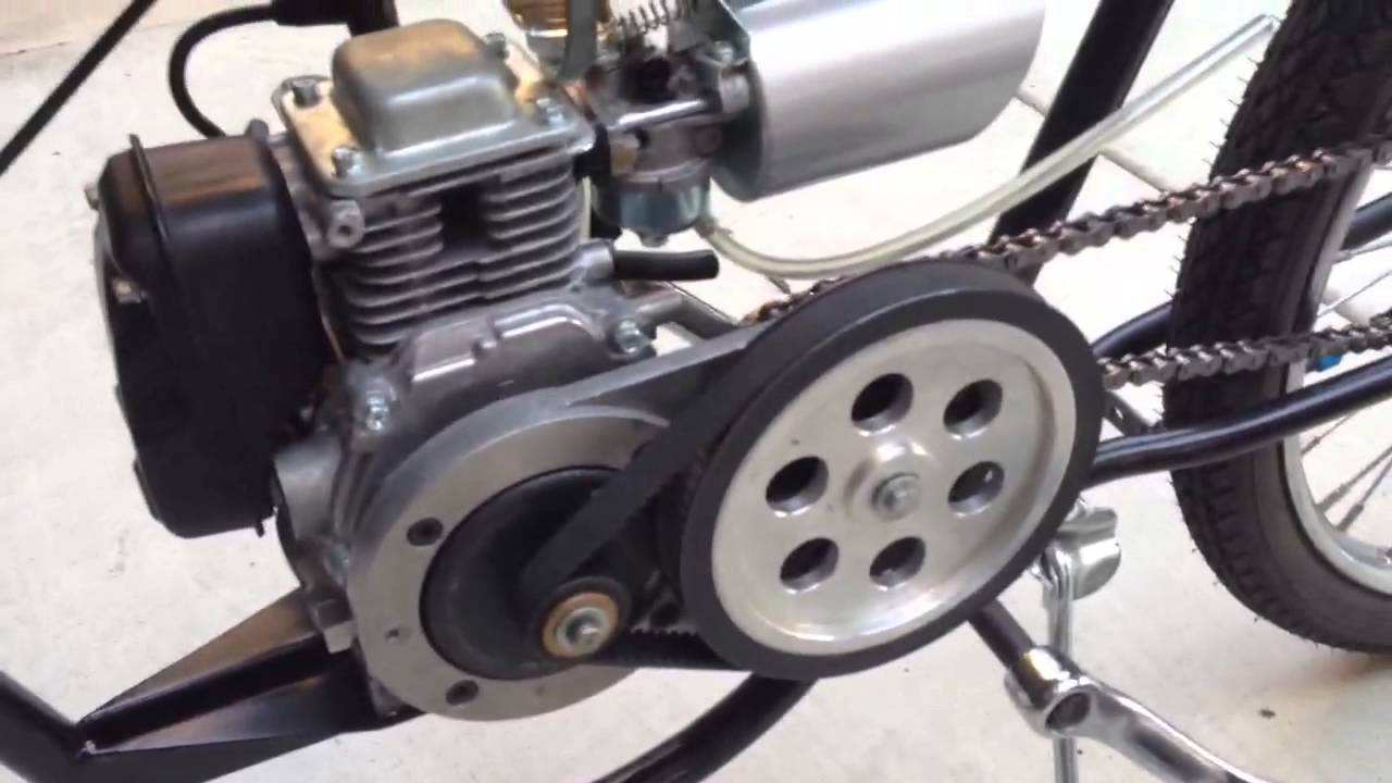 49 Cc Honda Gx50 Clone Boardtrack Racer Replica Youtube