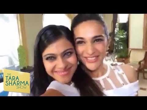 Fun Selfie - Tara Sharma With Kajol video