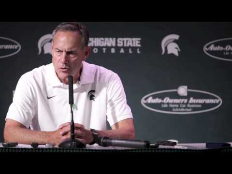 Video: Mark Dantonio discusses the Spartans' 45-7 win over Jacksonville State
