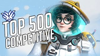 Overwatch Competitive PS4 - TOP 500 GRIND ONCE AGAIN!