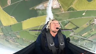 video: Watch: Meet the pilot spreading lockdown cheer with sky-painting skills