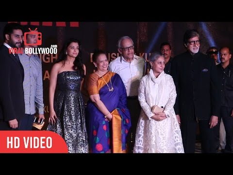 Aishwarya Rai, Abhishek And Amitabh Bachchan At Grand Premiere Of Sarbjit Movie