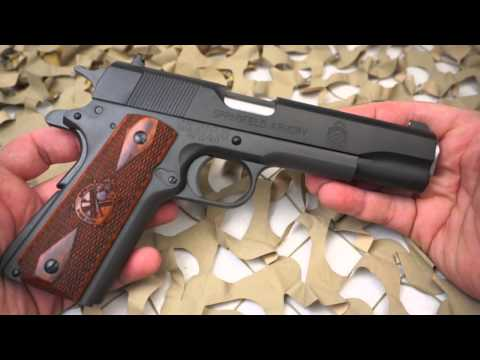 Springfield 1911 A1 45ACP Semi Auto Milspec Pistol Review - Texas Gun Blog