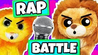 Beanie boos Bushy VS kIng rap battle! Annoying little brother vs big brother ( 20k sub special )