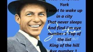 Watch Frank Sinatra New York New York video