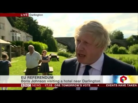 Boris Johnson says It is time for the  British to believe in themselves