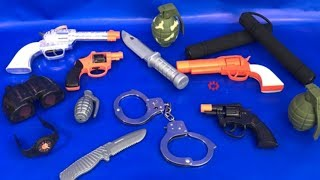Box of Toys 🎁 Box Full of Toys 🔫 Toy Guns 🗡 Toy Weapons ⚔️ Police 🚨 Toys for Kids 🚔 Kids Fun