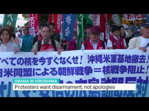 Protests against US President's planned visit, Sandra Gathmann reports