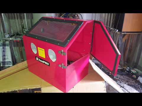 ToolPRO Sandblasting Cabinet Unboxing and Review