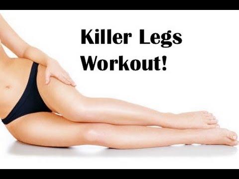 KILLER LEGS- WORKOUT! Get the BEST Legs, Thighs, Hips & Bum!!
