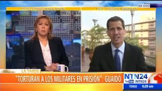 Juan Guaid: quotcuando Maduro habla de dilogo, habla de ganar tiempoquot