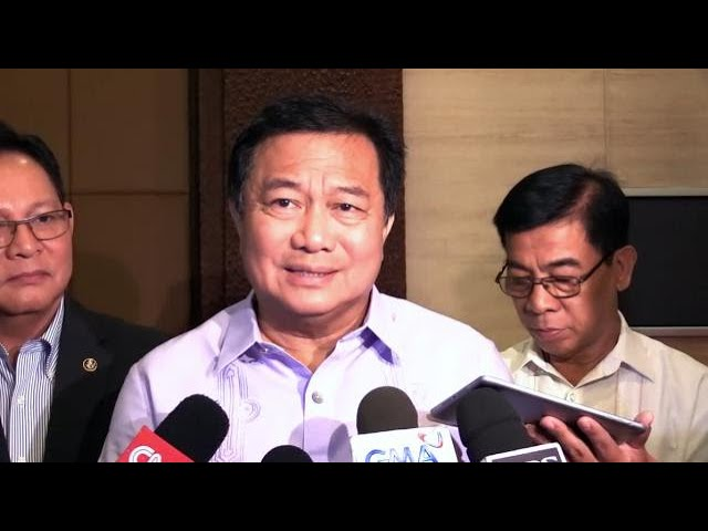 Alvarez: Raising Sereno impeach rap to SC won't lead to constitutional crisis