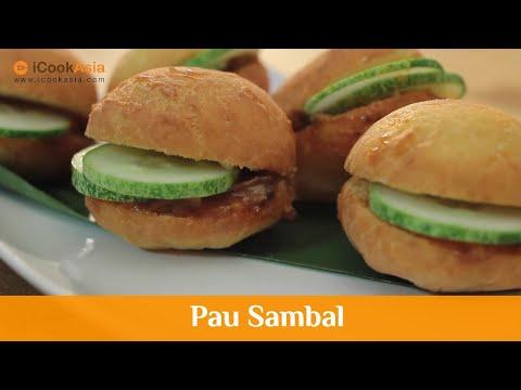 Pau Sambal | Burger Malaysia | ICookAsia