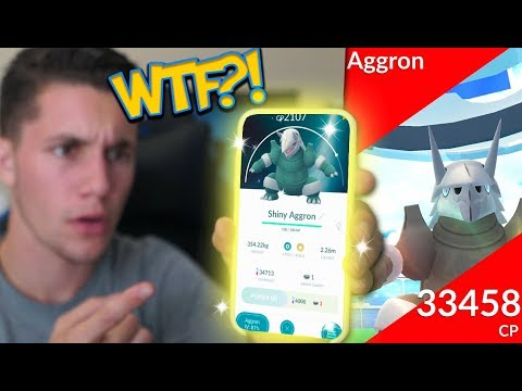 I CAN'T BELIEVE POKÉMON GO DID THIS! NEW SHINY AGGRON IN POKÉMON GO + NEW REGIONAL!