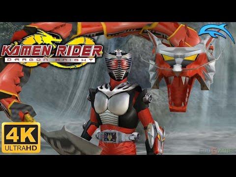 Kamen Rider: Dragon Knight - Gameplay Wii 4K 2160p (Dolphin 5.0)