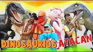 Manito y Maskarin nos salvan de JURASSIC PARK / Kids Play