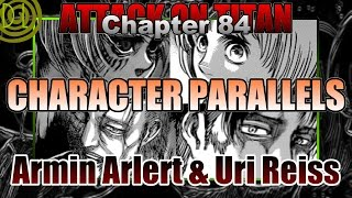 (Attack on Titan) Chapter 84 Character Parallels: Armin Arlert and Uri Reiss | DarkLogic |