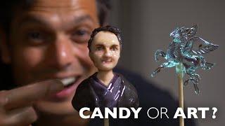 Japanese Candy Making Artist | Amezaiku ? ONLY in JAPAN