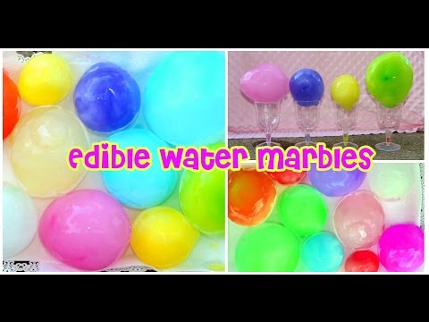 Water Marbles YOU CAN EAT!